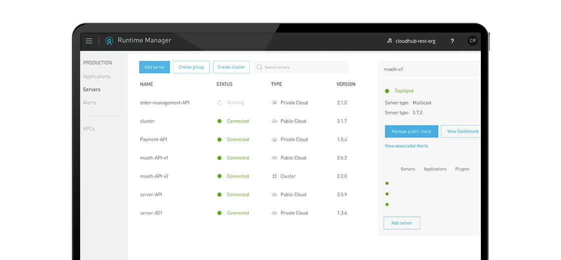 Unified Management screenshot