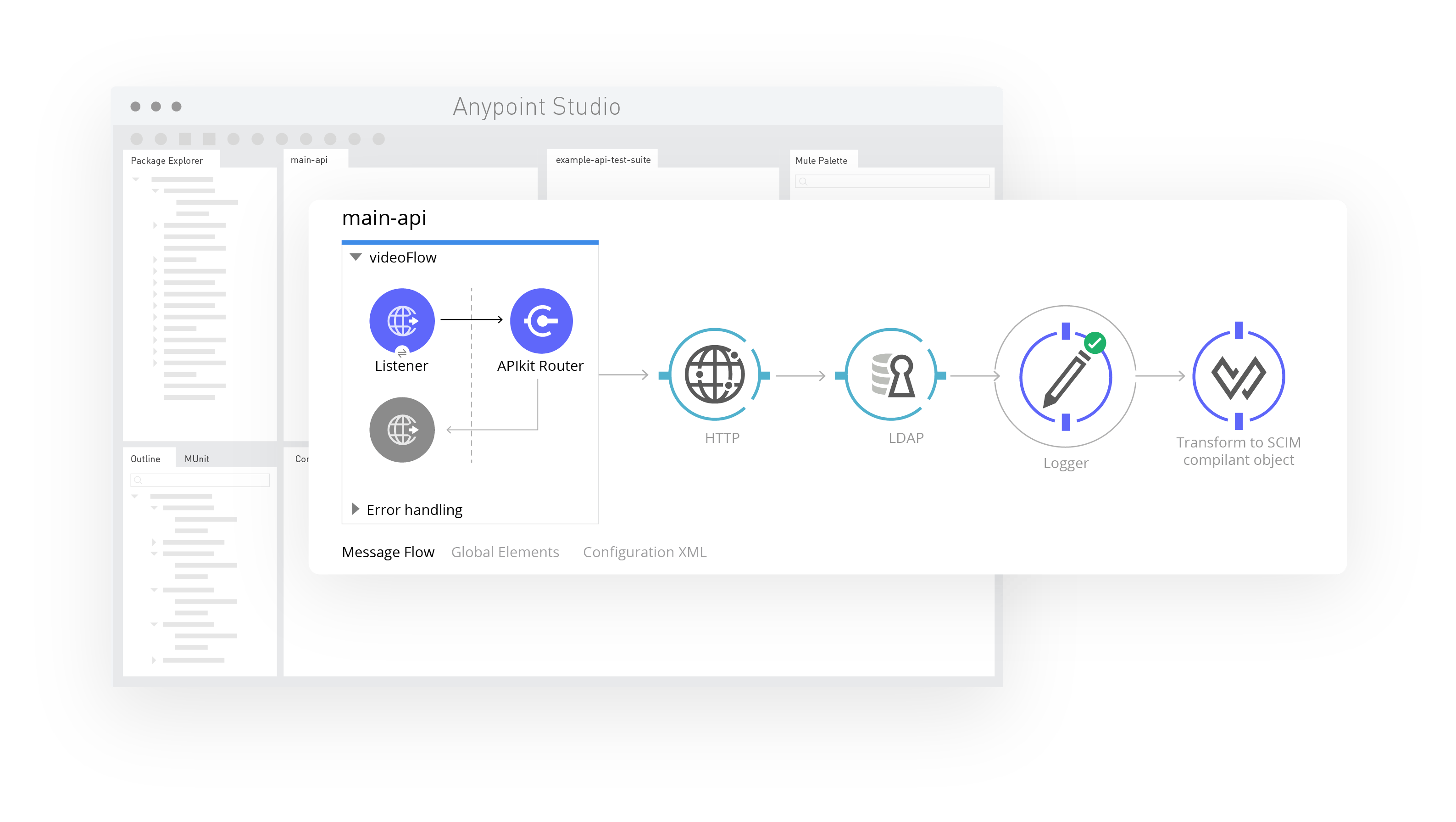 API-first design screenshot