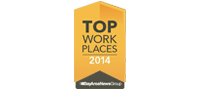 Top workplace 2014